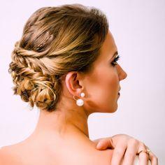 Bridal Hair, Makeup and Jewelry by Pink Wasabi via PinkWasabiShop.com, Miami Beauty Artists