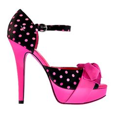 Polka Dot Barbie by Town Shoes