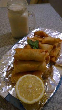 Potato spring rolls