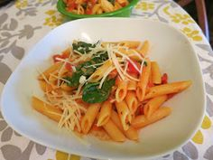Copycat Noodles and Company Penne Rosa pasta.  Super yummy recipe!!  Family favorite!  Make some Parm Chicken to throw on top & you are set!!
