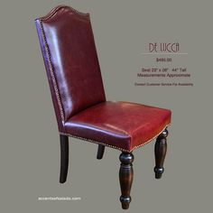 red leather dining room chairs | tuscany dining room | pinterest