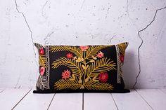 "handmade vintage suzani pillow cover - 14.57"" x 22.64"" - FREE shipment   Etsy."