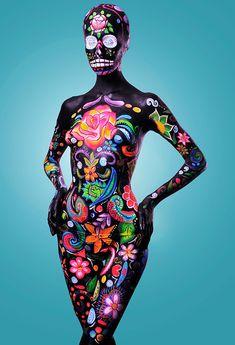 body paint artistico - Buscar con Google