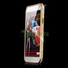7ba58ac76d Metal and Hard Plastic 2 in 1 Bling Bumper Case for Samsung Galaxy S5 i9600  Glossy