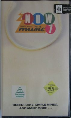 NOW That's What I Call Music 7 - VHS