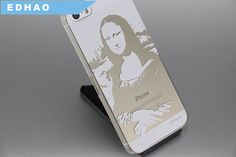 For Mona Lisa art woodcut pattern phone case,amazing cool good gifts iphone accessories,phone case,for her for him BFF friends gift on Etsy, US$26.00