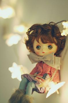 Jerryberry doll star lights