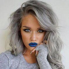 Grey Hair & Pearl White Platinum