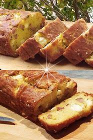 ΜΑΓΕΙΡΙΚΗ ΚΑΙ ΣΥΝΤΑΓΕΣ 2: Κέικ αλμυρό με φέτα & λουκάνικο !!! Sweets Recipes, Snack Recipes, Snacks, Desserts, Greek Recipes, Tuna, Banana Bread, Sausage, Pork