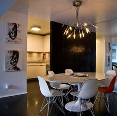 eames table breakfast round - Google Search