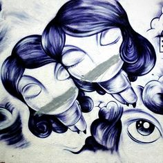Jone - street art - paris 19, rue henri nogueres (juil 2013) Old School Fashion, Graffiti Characters, Boy Character, Banksy, Sculptures, Sketches, Paris, Writing, Wall