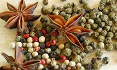 10 essential Chinese spices   http://recipes.howstuffworks.com/food-facts/5-essential-chinese-spices-and-sauces.htm#page=1