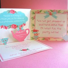 Hostess with the Mostess® - POP UP Invitations
