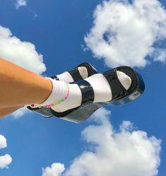 Dr Shoes, Sock Shoes, Cute Shoes, Me Too Shoes, Funky Shoes, Vans Shoes, Shoes Heels, Aesthetic Shoes, Aesthetic Vintage