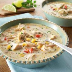 Cheese is the star of this favorite white chili recipe that comes together in a snap!