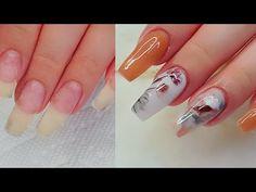 Nail Art Desings Natural Acrylic /Uñas Acrilicas Naturales de 7 meses - YouTube Piercings, Nail Art Videos, Create, Nails, Nature, Beauty, Youtube, Enamels, Moda Masculina