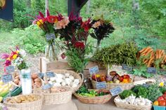 Fresh veggies from the Farmers Market!