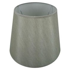 Large Cone Lamp Shade - Grey.Opens in a new window