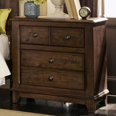 Found it at Wayfair - 2 Drawer Nightstand