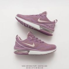 wholesale dealer ac9d3 efe3b Deadstock Listing Nike Womens Air Max Fury Air Violet Trend Athleisure Shoe  Trainers Shoes