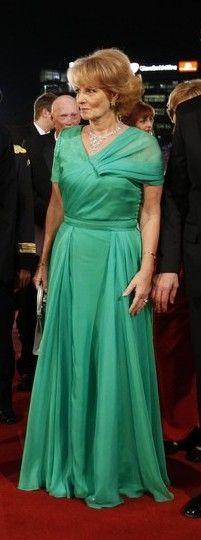 love this green; Crown Princess Margarita of Romania