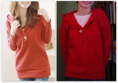 Making a Living: Make: Sweatshirt Refashion!