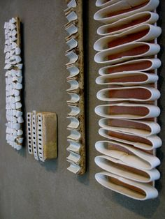 Wall pieces by Charlotte Thorup