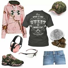 LOVE the saying on the shirt and of course the camo too :-)