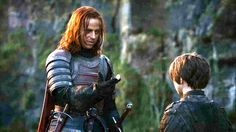 "Jaqen tells Arya to use the magic words, ""Valer Morghulis."" Read the preview then join our Game of Thrones live chat.  Photo: HBO"