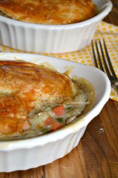 Chicken Pot Pie Recipe for Two #ChefTails