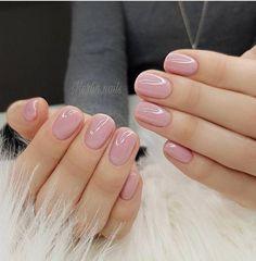 52 Cute and Lovely Pink Nail Designs to Love Romantic and Girly . - 52 Cute and Lovely Pink Nail Designs to Look Romantic and Girly - Matte Pink Nails, Pink Glitter Nails, Nude Nails, My Nails, Neutral Gel Nails, Shellac Nail Colors, Light Pink Nails, Color Nails, Classy Gel Nails