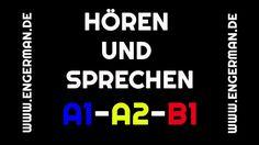 Hören und Sprechen #2 | A1-A2-B1 | mit Untertiteln