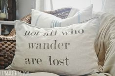 All that is gold does not glitter, Not all those who wander are lost; J.R. Tolkein