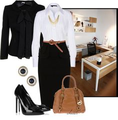 """""""Business Seperates"""" by christa72 ❤ liked on Polyvore"""