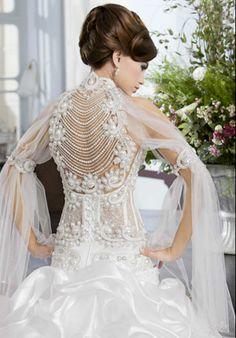 salon-mona-bridal-collection-100 Crochet Wedding Dress Pattern, Crochet Wedding Dresses, Wedding Dress Patterns, Bridal Dresses, Stunning Wedding Dresses, Designer Wedding Dresses, Fairytale Gown, Bridal Collection, Pretty Dresses
