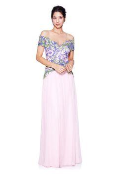 eb620e4a631 Tadashi Shoji - Nour Gown Off Shoulder Fashion