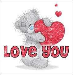 LOVE YOU on Pinterest  Tatty Teddy, To The Moon and Love You