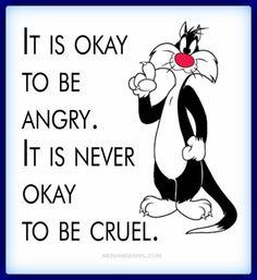 It's okay to...