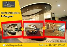Turnkey Interiors in Gurgaon Simple Designs, Cool Designs, Residential Interior Design, Commercial Interiors, Neutral Colors, Design Trends, A Team, Building A House, Living Spaces