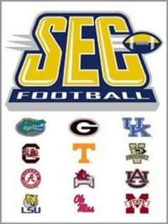 SEC Football. But this leaves out our 2 newest teams, Missouri (SEC East) and Texas A (SEC West). Sec Football, Football Stadiums, Alabama Football, Football Season, College Football, Football Things, Football Rules, Carolina Football, Auburn Football