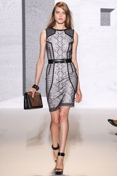 Andrew Gn Spring 2014 Ready-to-Wear Collection Photos - Vogue Runway Fashion, High Fashion, Fashion Show, Fashion Looks, Fashion Outfits, Fashion Design, Paris Fashion, Fall Fashion, Dresses For Work