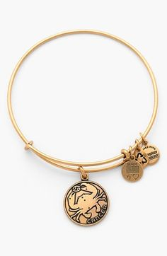 $28 Alex and Ani 'Cancer' Adjustable Wire Bangle | Nordstrom
