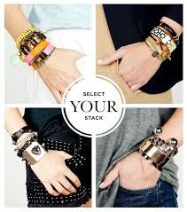 817c74a176b Image result for how to style bracelets Layered Bracelets