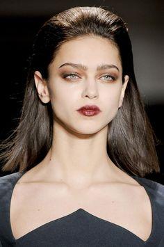 Cushnie et Ochs - Goth Makeup, Beauty Makeup, Eye Makeup, Hair Makeup, Hair Beauty, Makeup Geek, Catwalk Makeup, Runway Makeup, Make Up Looks