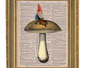 gnome mushroom guy