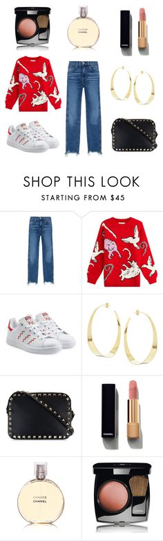 """""""Day in style"""" by hylls ❤ liked on Polyvore featuring 3x1, Paul & Joe, adidas Originals, Lana, Valentino and Chanel"""