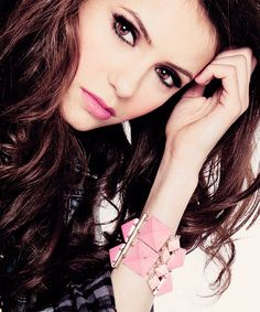 the vampire diaries, tvd and Nina Dobrev image on We Heart It Nina Dobrev, Katherine Pierce, Elena Gilbert, Beautiful Celebrities, Beautiful People, Beautiful Eyes, Beautiful Women, Nikolina Konstantinova Dobreva, Winter Typ
