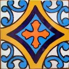 Mexican Tile / Lomeli Ceramic Mexican Tile - Decorative Tile