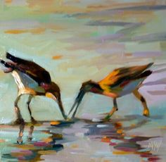 Gimme That; Mary Sheehan Winn  (from Daily Paintworks)