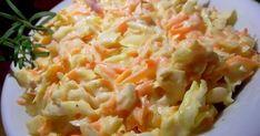 Bildiğiniz lahana salatası tarifini unutun... Hemen hemen bütün yemeklerin yanına yakışabilecek Coleslaw salatası Fast food zinc...